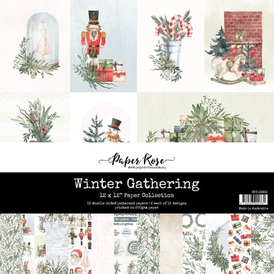 12X12 Paper Collection, Winter Gathering