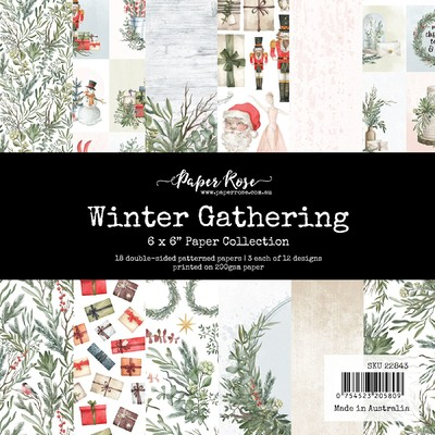 6X6 Paper Collection, Winter Gathering