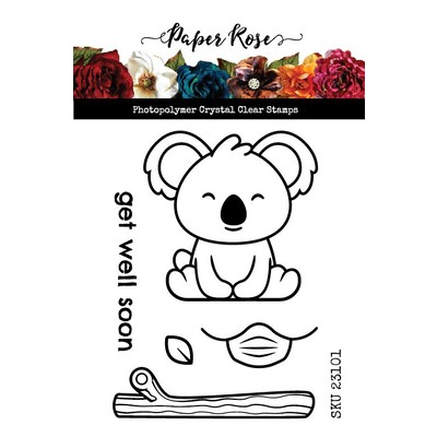 Clear Stamp, Get Well Soon Koala
