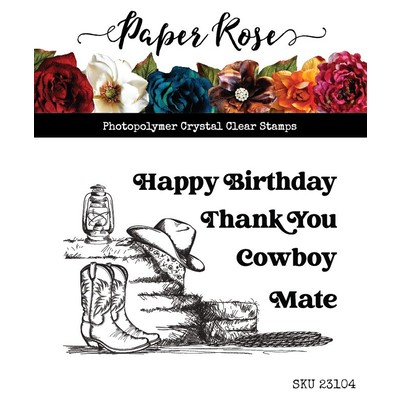 Clear Stamp, Boots & Haybales