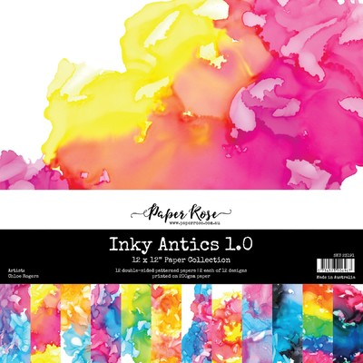 12X12 Paper Collection, Inky Antics 1.0