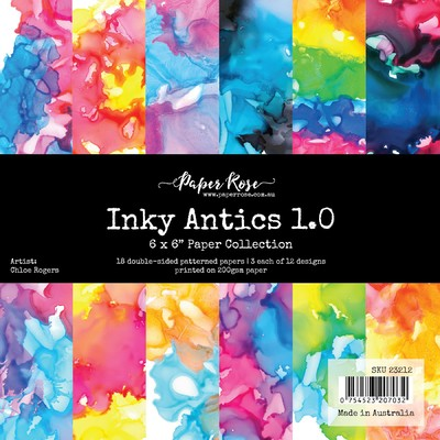 6X6 Paper Collection, Inky Antics 1.0