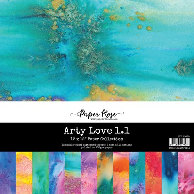 12X12 Paper Collection, Arty Love 1.1