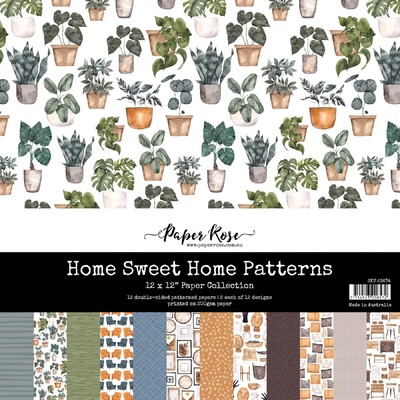 12X12 Paper Collection, Home Sweet Home Patterns