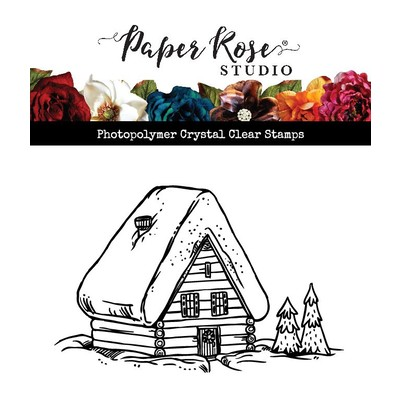 Clear Stamp, Gingerbread Hut