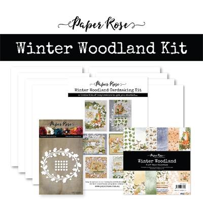 Cardmaking Kit, Winter Woodland