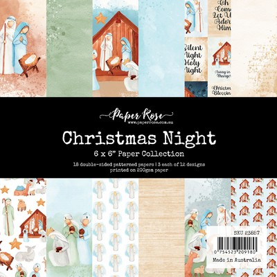6X6 Paper Collection, Christmas Night