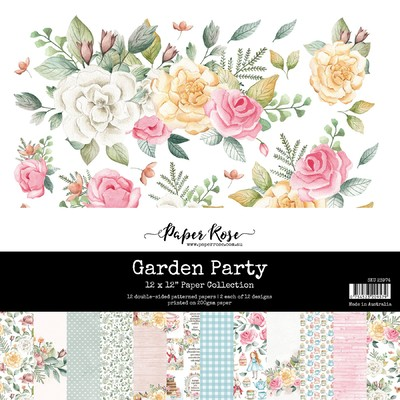 12X12 Paper Collection, Garden Party