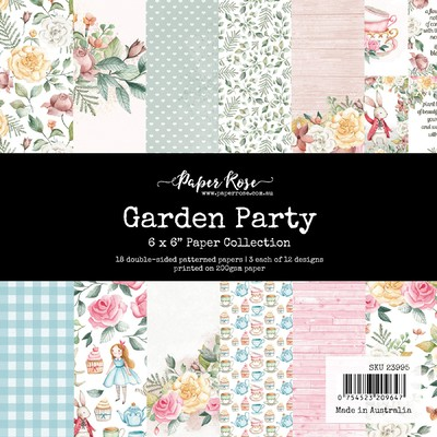 6X6 Paper Collection, Garden Party