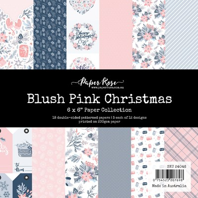 6X6 Paper Collection, Blush Christmas