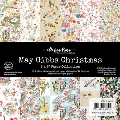 6X6 Paper Collection, May Gibbs Christmas
