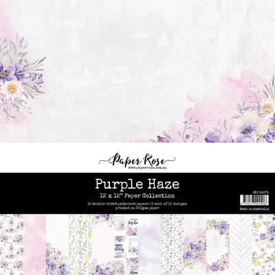 12X12 Paper Collection, Purple Haze