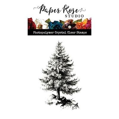 Clear Stamp, Sketchy Pine Tree