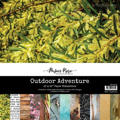 12X12 Paper Collection, Outdoor Adventure