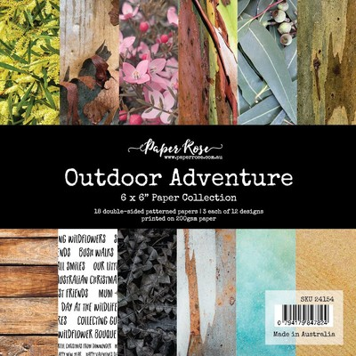 6X6 Paper Collection, Outdoor Adventure