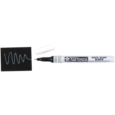 Pentouch Marker, Extra Fine (0.7mm) - White