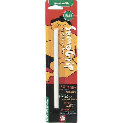 Sumo-Grip Pencil Eraser Refill (3 pk)
