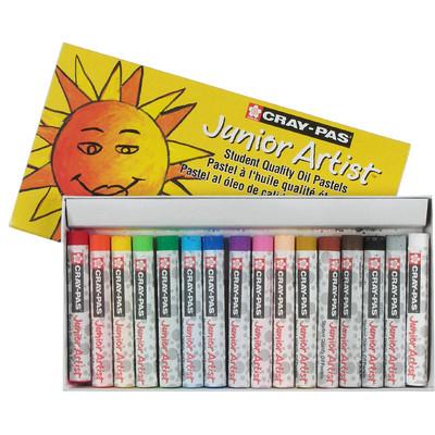 Cray-Pas Junior Artist Oil Pastel Set, 16 Colors (16 pc)