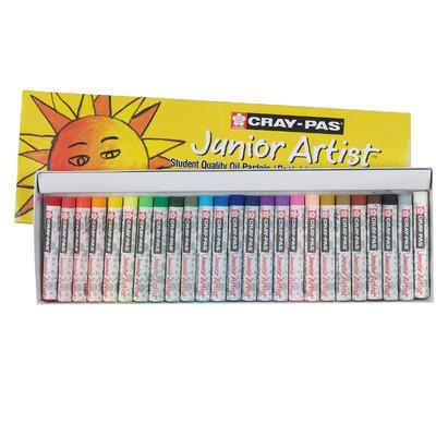 Cray-Pas Junior Artist Oil Pastel Set, 25 Colors (25 pc)