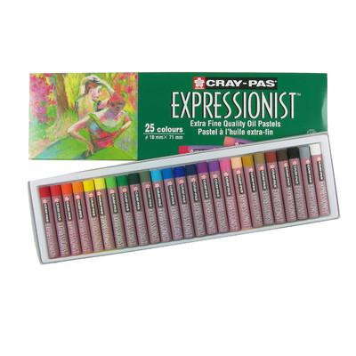 Cray-Pas Expressionist Oil Pastel Set, 25 Colors (25 pc)