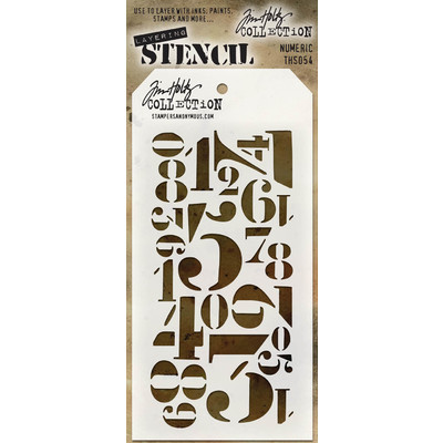 Layering Stencil, Numberic