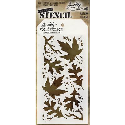 Layering Stencil, Autumn