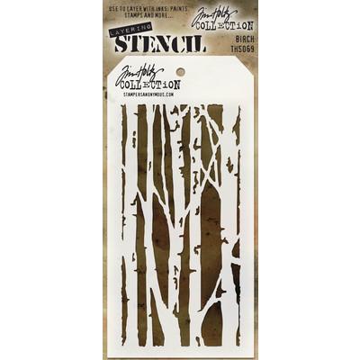 Layering Stencil, Birch
