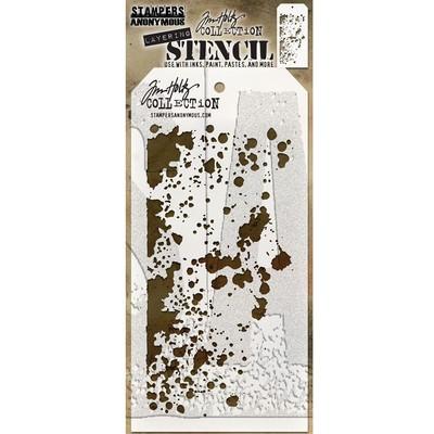 Layering Stencil, Grime