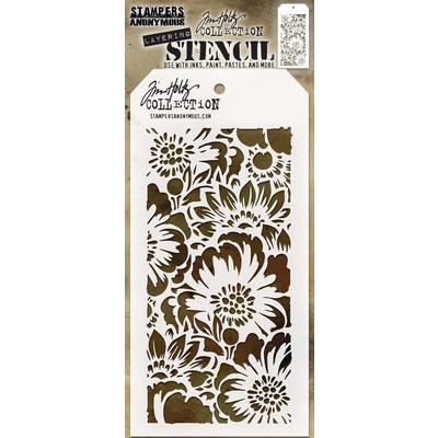 Layering Stencil, Bouquet
