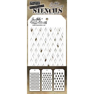 Layering Stencil Set, Shifter Multi Harlequin (3 Pack)