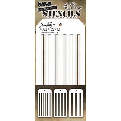 Layering Stencil, Shifter Multi Stripes (3pc)