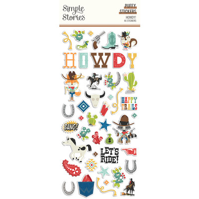 Puffy Stickers, Howdy!