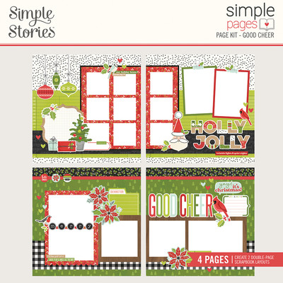 Simple Pages Page Kit, Good Cheer