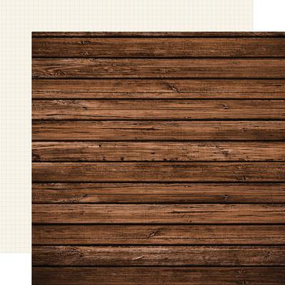 12X12 Color Vibe Cardstock, Elm/Cream Grid