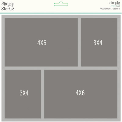 Simple Pages Page Template, Design 1