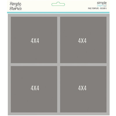 Simple Pages Page Template, Design 5