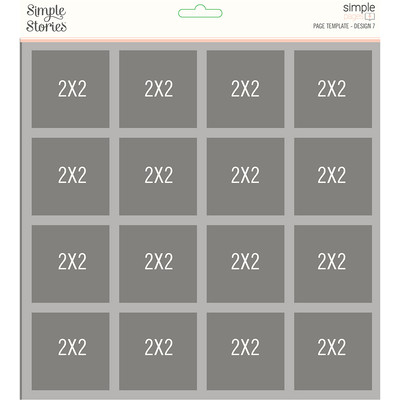 Simple Pages Page Template, Design 07