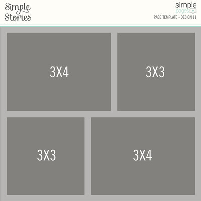 Simple Pages Page Template, Design 11