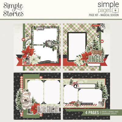 Simple Pages Page Kit, Magical Season