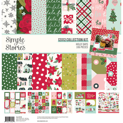 12X12 Collection Kit, Holly Days