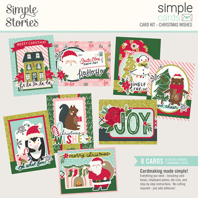 Simple Cards Card Kit, Christmas Wishes