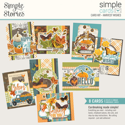 Simple Cards Card Kit, Harvest Wishes