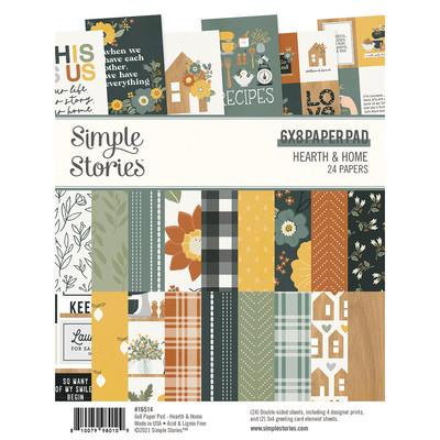 6X8 Paper Pad, Hearth & Home