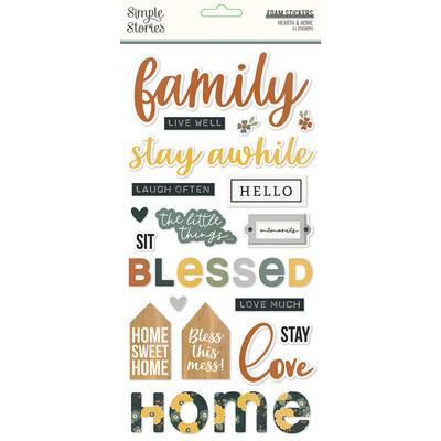 Foam Stickers, Hearth & Home