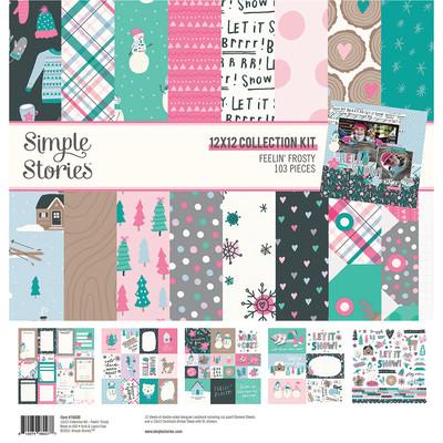 12X12 Collection Kit, Feelin' Frosty