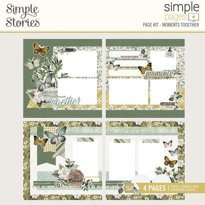 Simple Pages Page Kit, Moments Together