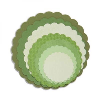 Framelits Die Set, Circles - Scallop (8pk)