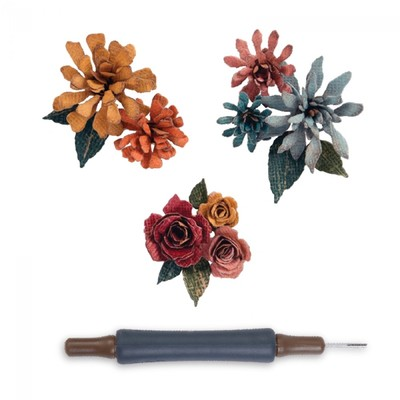 Thinlits Die, Tiny Tattered Florals O 15pk