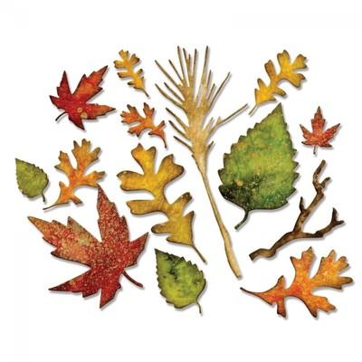 Thinlits Die, Fall Foliage 14pk