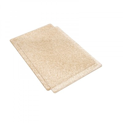 Standard Cutting Pads, Clear W/ Gold Glitter - 1 Pair